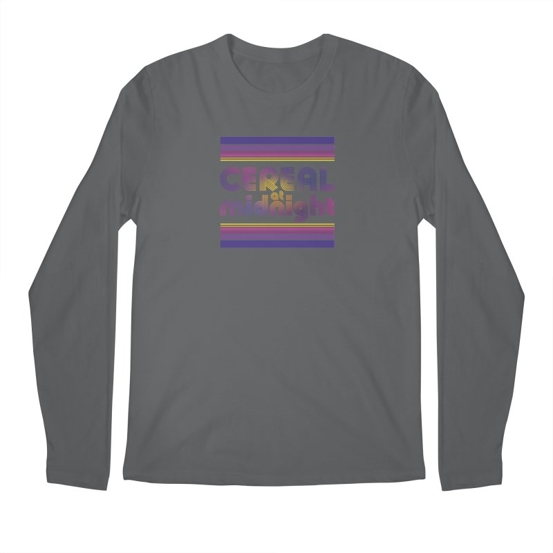 70s Studio 54 Men's Longsleeve T-Shirt by Cereal at Midnight Store