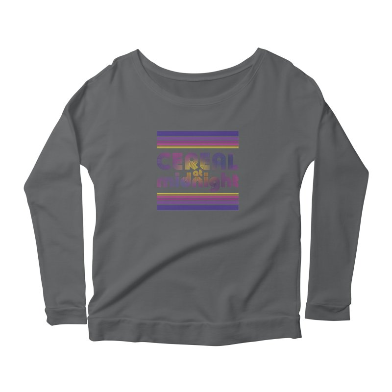 70s Studio 54 Women's Longsleeve T-Shirt by Cereal at Midnight Store