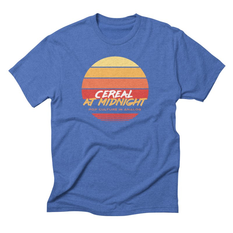 Sunset to Midnight Men's T-Shirt by Cereal at Midnight Store