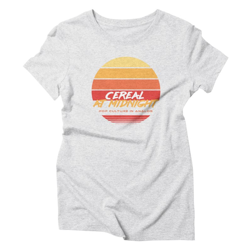 Sunset to Midnight Women's T-Shirt by Cereal at Midnight Store