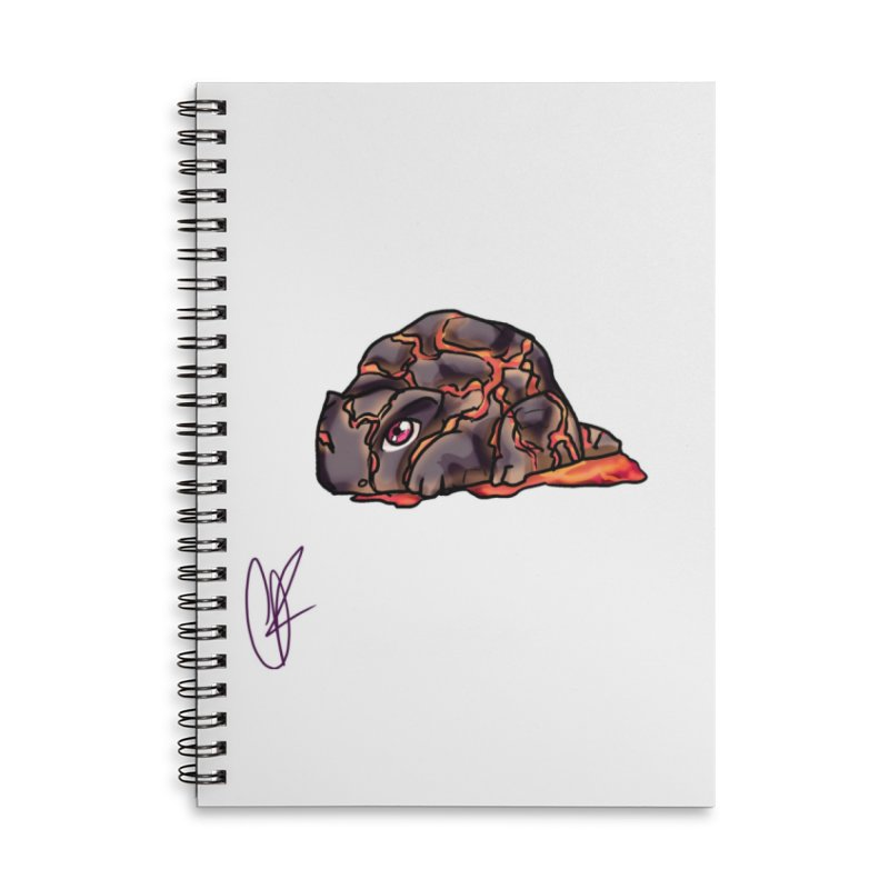 Baby Rock Lava Monster Accessories Notebook by Magpies and Pigeons