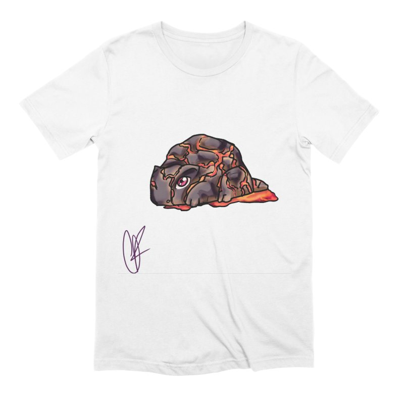 Baby Rock Lava Monster Men's Extra Soft T-Shirt by Magpies and Pigeons