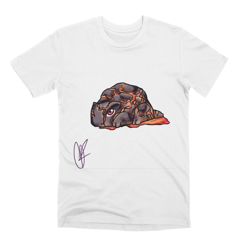 Baby Rock Lava Monster Men's T-Shirt by Magpies and Pigeons