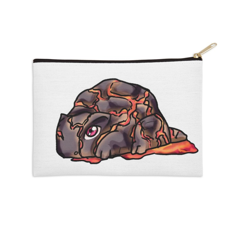 Baby Rock Lava Monster Accessories Zip Pouch by Magpies and Pigeons