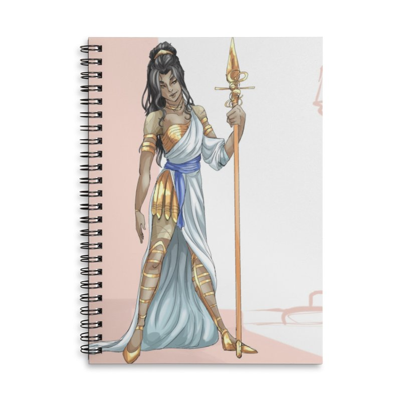Athena Accessories Notebook by Magpies and Pigeons