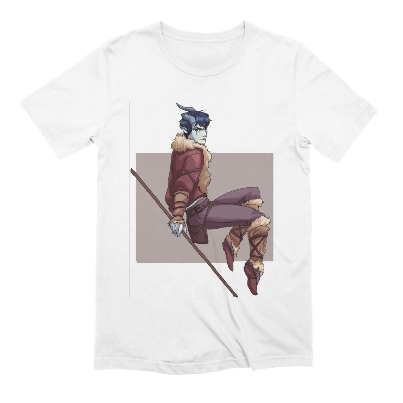 Tiefling Thief Men's T-Shirt by Magpies and Pigeons