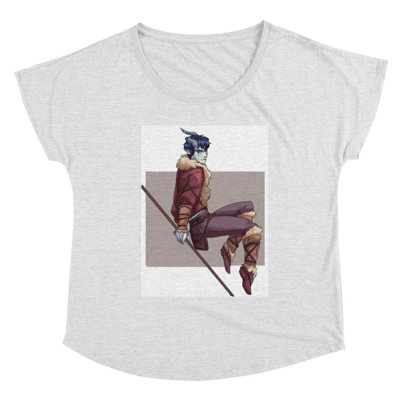 Tiefling Thief Women's Scoop Neck by Magpies and Pigeons