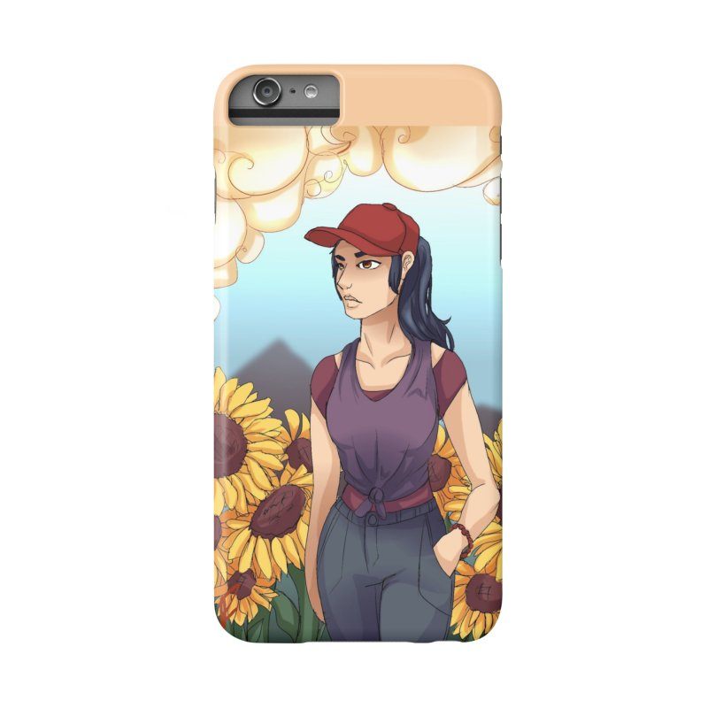 Sunflowers Accessories Phone Case by Magpies and Pigeons