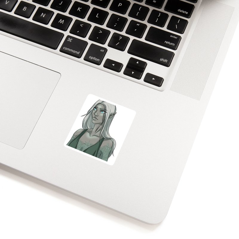 Elf of Stone Accessories Sticker by Magpies and Pigeons