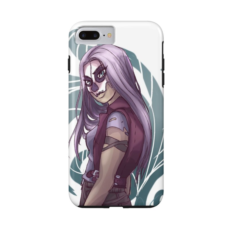 Skull Masks are cool Accessories Phone Case by Magpies and Pigeons