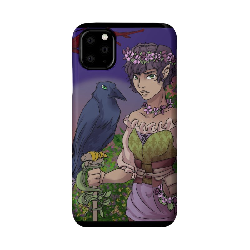 Ravenmaster Accessories Phone Case by Magpies and Pigeons