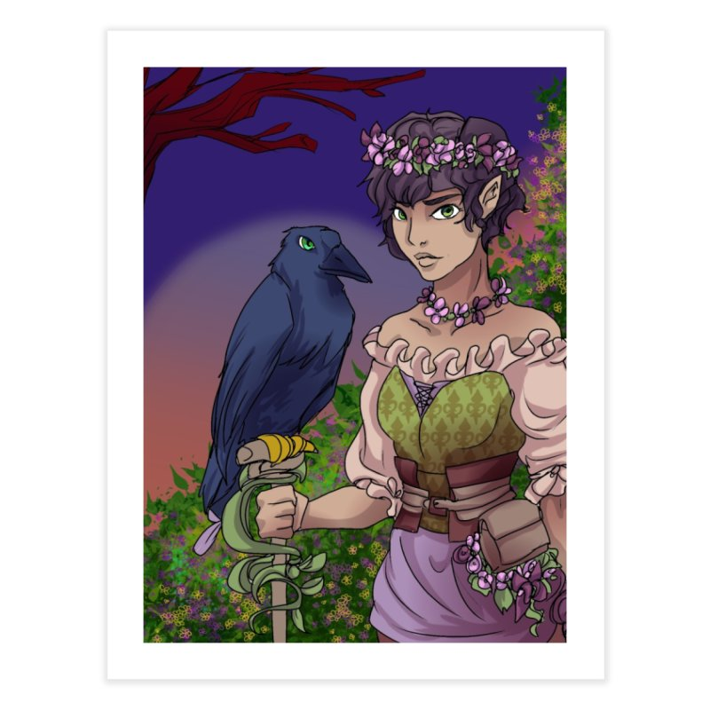 Ravenmaster Home Fine Art Print by Magpies and Pigeons