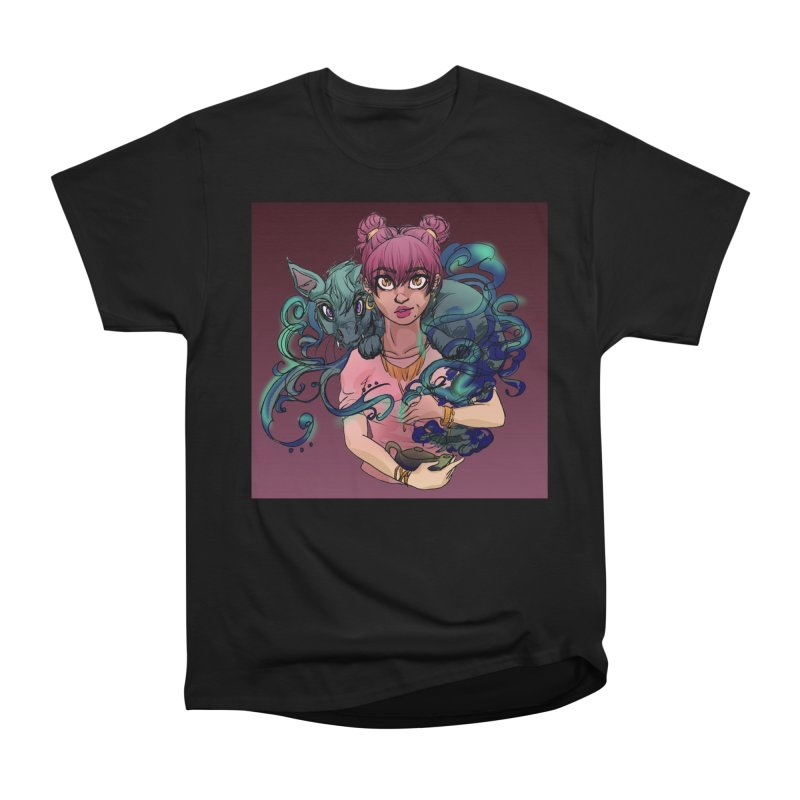 Ghost Pet Women's Heavyweight Unisex T-Shirt by Magpies and Pigeons