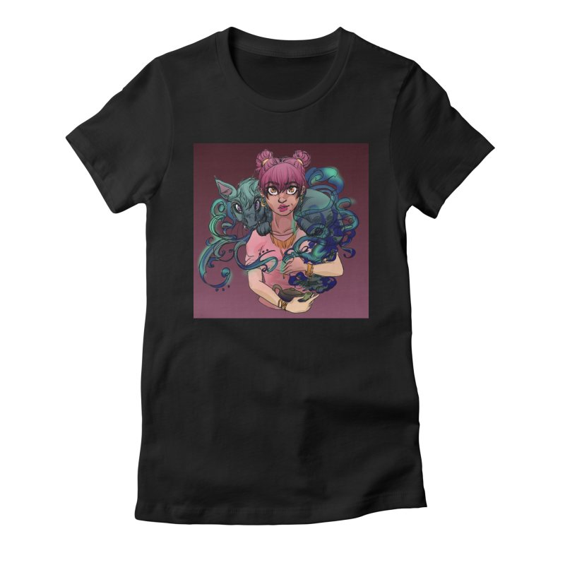 Ghost Pet Women's T-Shirt by Magpies and Pigeons
