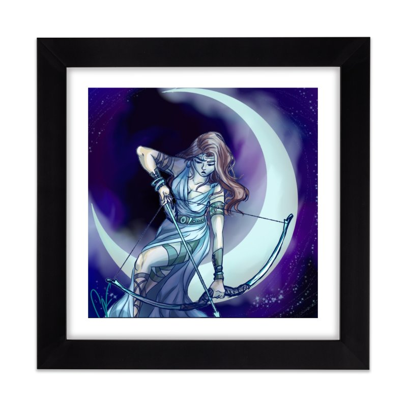 Artemis Home Framed Fine Art Print by Magpies and Pigeons