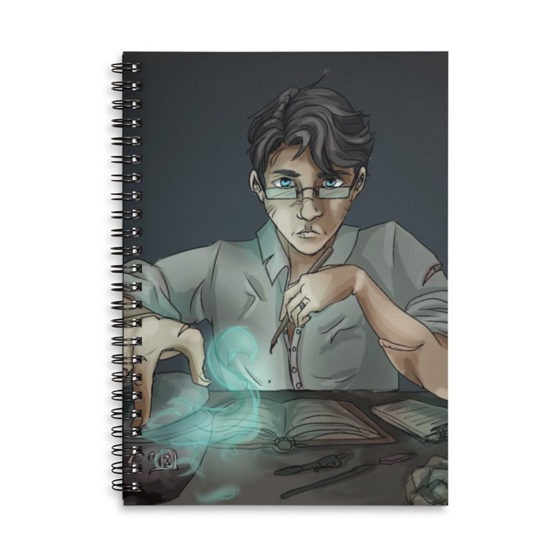 Monster Hunter Accessories Notebook by Magpies and Pigeons