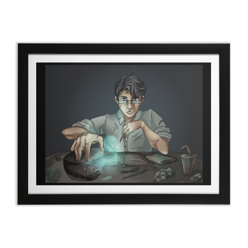 Monster Hunter Home Framed Fine Art Print by Magpies and Pigeons
