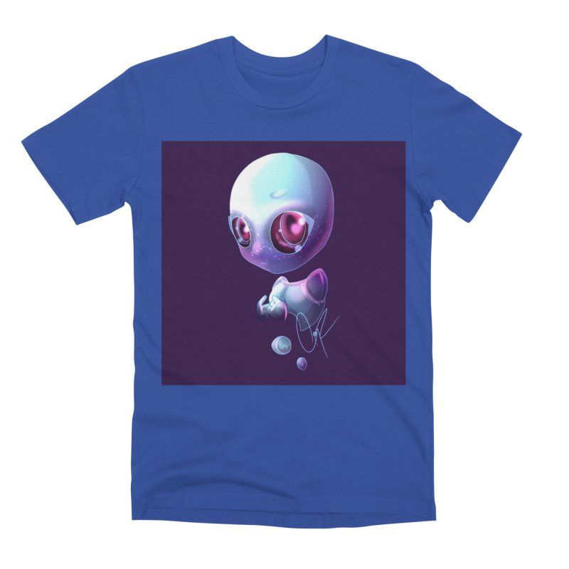 Jeff the Alien Men's T-Shirt by Magpies and Pigeons