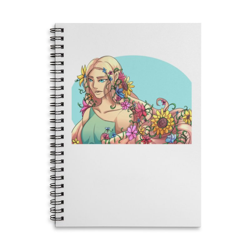 Spring Fever Accessories Notebook by Magpies and Pigeons