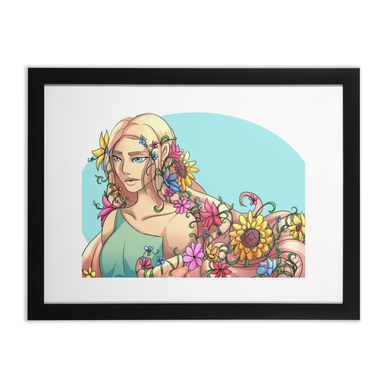 Spring Fever Home Framed Fine Art Print by Magpies and Pigeons