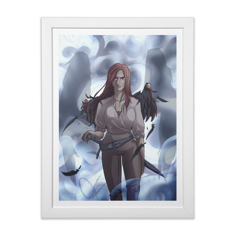Broken Wings Home Framed Fine Art Print by Magpies and Pigeons