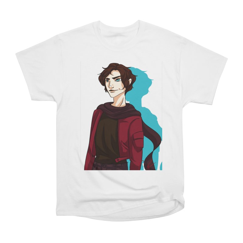 Scarf Man Men's T-Shirt by Magpies and Pigeons