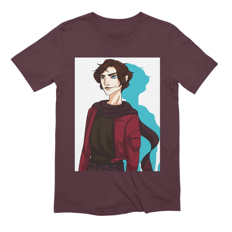 Scarf Man Men's Extra Soft T-Shirt by Magpies and Pigeons