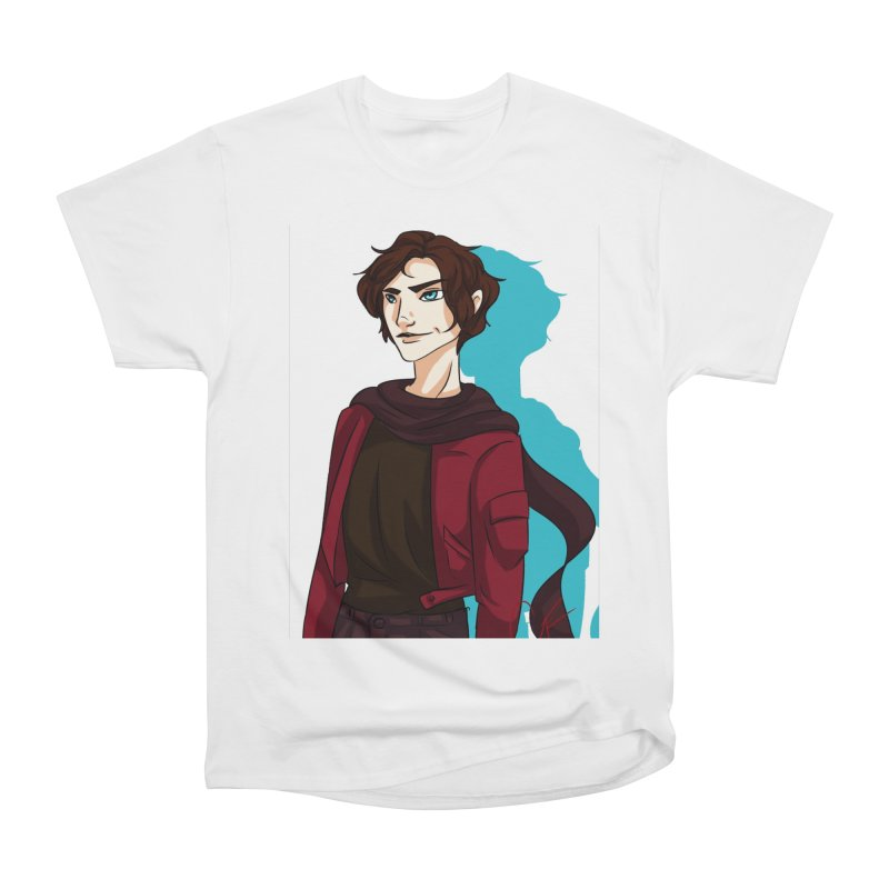 Scarf Man Women's T-Shirt by Magpies and Pigeons