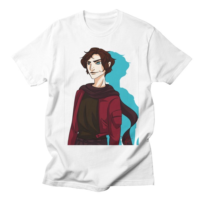 Scarf Man Men's Regular T-Shirt by Magpies and Pigeons