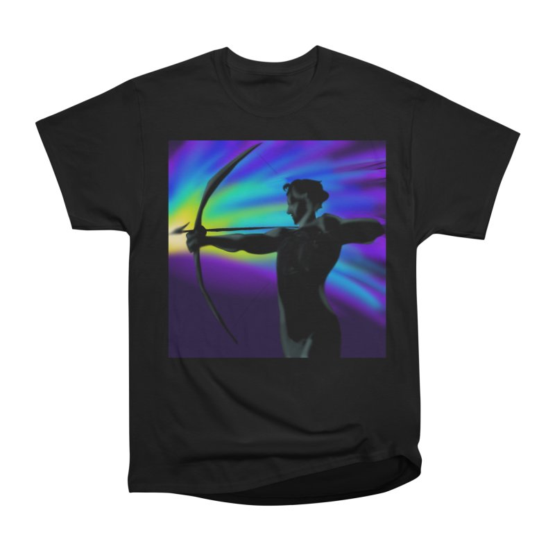 Shooting Star Archer Men's T-Shirt by Magpies and Pigeons