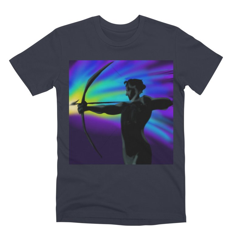 Shooting Star Archer Men's Premium T-Shirt by Magpies and Pigeons