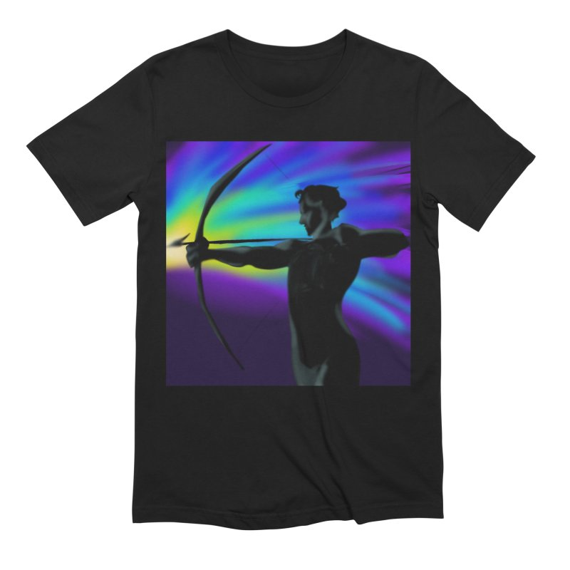Shooting Star Archer Men's Extra Soft T-Shirt by Magpies and Pigeons