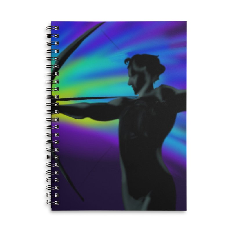 Shooting Star Archer Accessories Notebook by Magpies and Pigeons