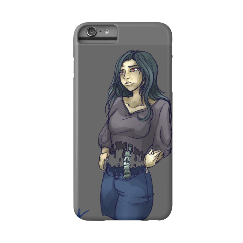 Anxiety is a Beast Accessories Phone Case by Magpies and Pigeons