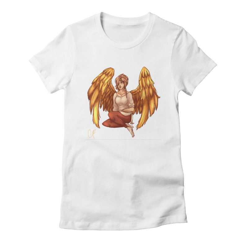 Phoenix  but a Person Women's T-Shirt by Magpies and Pigeons