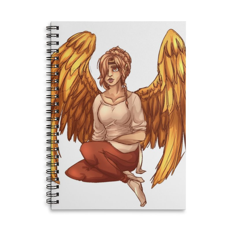 Phoenix  but a Person Accessories Notebook by Magpies and Pigeons