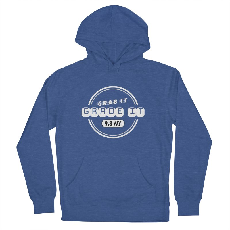 Grab It, Grade It, 9.8 It! Men's French Terry Pullover Hoody by Certified Comic Shop