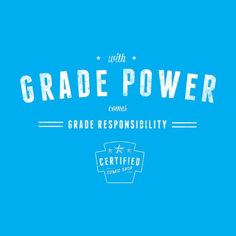 With Grade Power Shirt by Certified Comic Shop