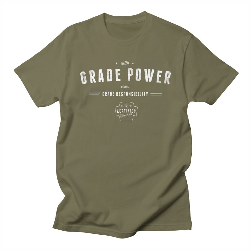 With Grade Power Shirt Women's Regular Unisex T-Shirt by Certified Comic Shop