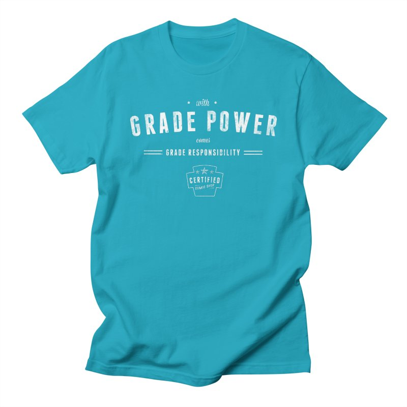 With Grade Power Shirt Women's Regular Unisex T-Shirt by Certified Comic Shop