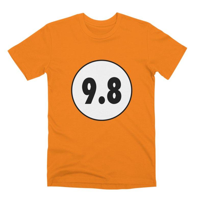 CGC 9.8 NM/M T-Shirt Men's Premium T-Shirt by Certified Comic Shop