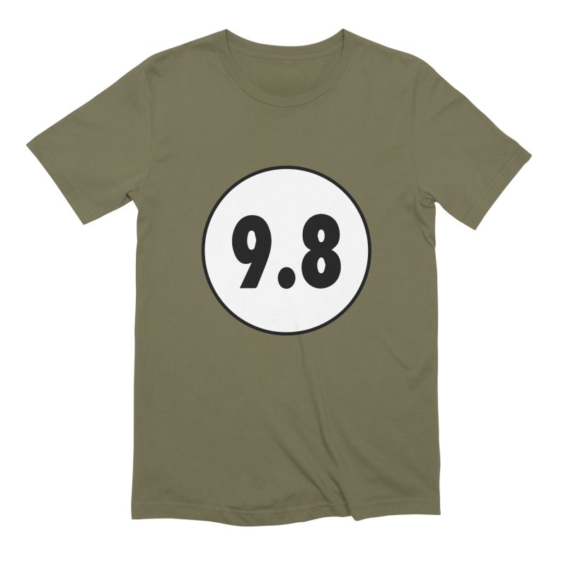 CGC 9.8 NM/M T-Shirt Men's Extra Soft T-Shirt by Certified Comic Shop