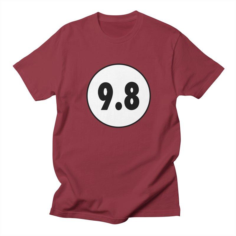CGC 9.8 NM/M T-Shirt Men's Regular T-Shirt by Certified Comic Shop