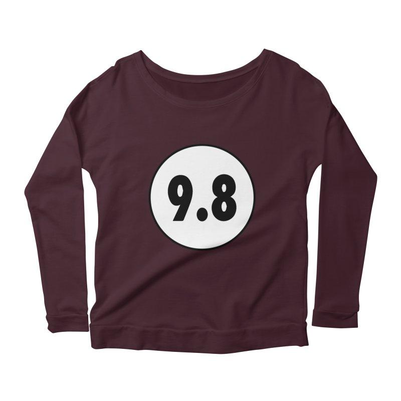 CGC 9.8 NM/M T-Shirt Women's Scoop Neck Longsleeve T-Shirt by Certified Comic Shop