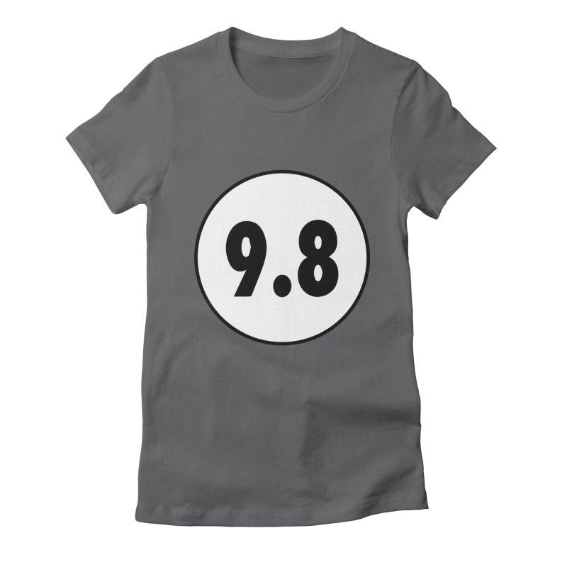 CGC 9.8 NM/M T-Shirt Women's Fitted T-Shirt by Certified Comic Shop