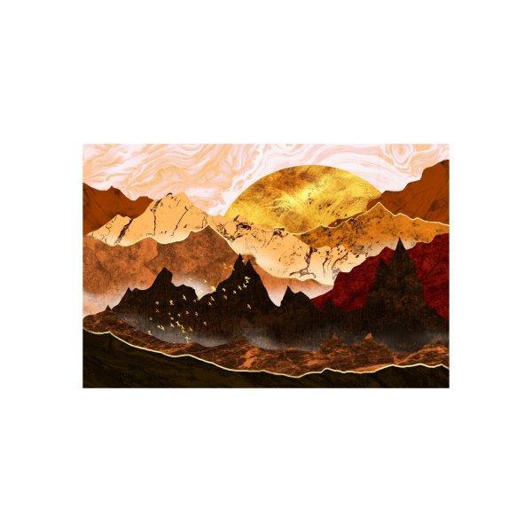 image for The golden mountains in autumn season