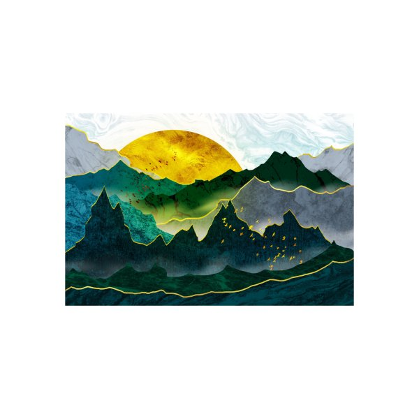 image for The gold of the emerald mountains
