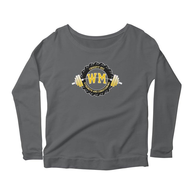 WM S&C Logo Women's Scoop Neck Longsleeve T-Shirt by cf853's Artist Shop