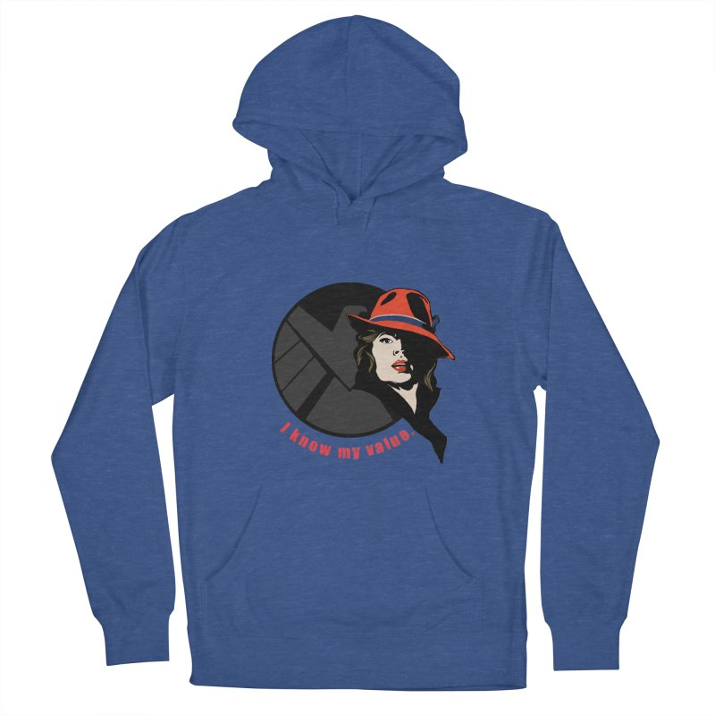 Agent of Value Men's Pullover Hoody by CFDunbar Designs