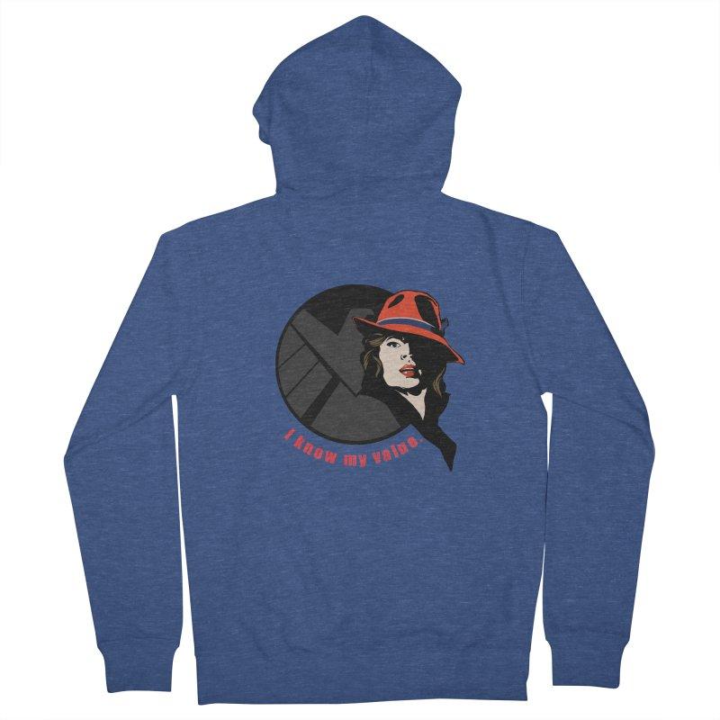 Agent of Value Women's Zip-Up Hoody by CFDunbar Designs